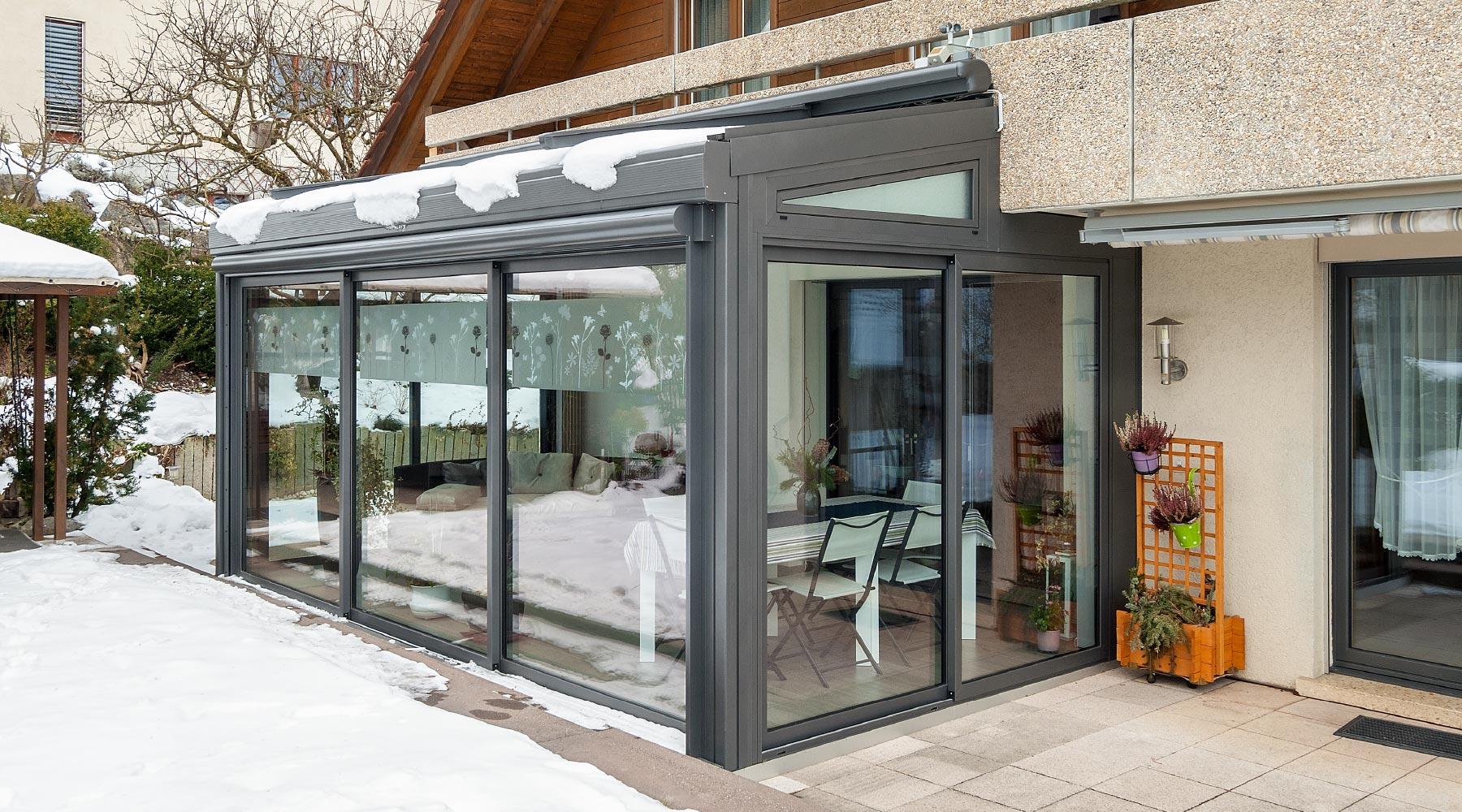 wintergarten unter balkon bauen balkon aus holz selber. Black Bedroom Furniture Sets. Home Design Ideas